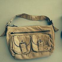Aeropostale Beige Purse Handbag With/ Outer Pockets Photo