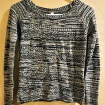 Aeropostale Black & Gray Sweater Size Small Fits Xs Extra Small 0 2 4 Photo