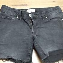 Aeropostale Black Jean Shorts Photo