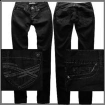 Aeropostale Black Straight Low Slim Smooth Bayla Jeans Pants Womens Size 0 2728 Photo