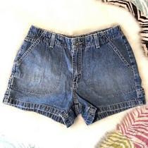 Aeropostale Blue Denim Jean Shorts Womens Size 2 Photo