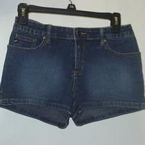Aeropostale Blue Jean Shorts Size 1/2 Photo