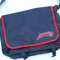 Aeropostale Blue & Red Messenger Bag Bike School Shoulder Kids Free Shipping Photo