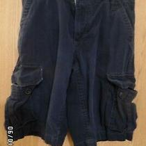 Aeropostale Boy's Dark Blue Cargo Shorts Size 28 Waist Photo
