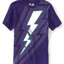 Aeropostale Boys Lightning Bolt Graphic T-Shirt 525 14 Photo