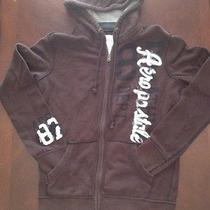 Aeropostale Brown and Solid Wooded Jacket Men Size Xs Cotton & Polyester Photo