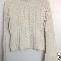 Aeropostale Cable Knit Turtleneck Sweater (M) Photo