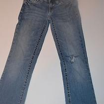 Aeropostale Chelsea Bootcut Jeans Size 0 Medium Wash Cute Cute Photo