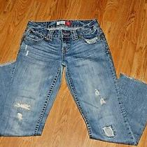 Aeropostale Chelsea Skinny Boot Cut Jeans Size 1/2 Photo