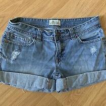 Aeropostale Denim Shorts Size 1/2 Photo