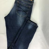 Aeropostale Distressed Skinny Med Wash Jeans Size 8 Short Photo