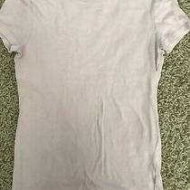 Aeropostale Girls Sz Xs Seriously Soft Pink Perfect Crew T-Shirt Short Sleeved Photo