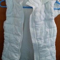 Aeropostale Girls Xs Tp New Winter Spring White Vest Nwot Photo