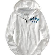 Aeropostale Graphic Full Zip Hoodie Nwt Small Photo