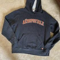 Aeropostale Gray Hoodie Sz Large Photo