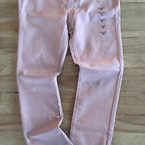 Aeropostale High Waisted Jeggings Dusty Pink Seriously Stretchy Twill Size 6r  Photo