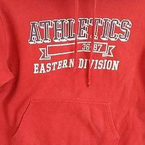 Aeropostale Hoodie Dark Red With Graphic  Size L Photo