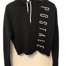 Aeropostale Hoodie Sweatshirt Sz Xs Black Photo