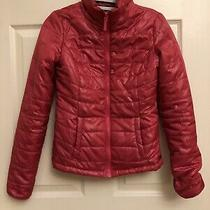 Aeropostale Hot Pink Puffer Winter Jacket Size Xs  Photo