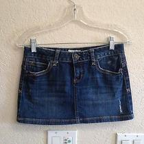 Aeropostale Jean Skirt Size 1 Photo
