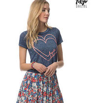 Aeropostale Juniors Heart 2 Heart Graphic T-Shirt 402 Xl Photo