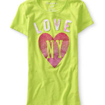 Aeropostale Juniors Love Ny Graphic T-Shirt Photo