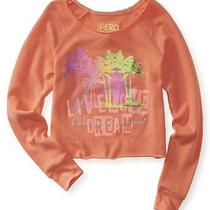 Aeropostale Juniors Palm Surf Sweatshirt Photo