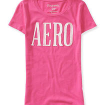 Aeropostale Juniors Sequined Graphic T-Shirt Photo