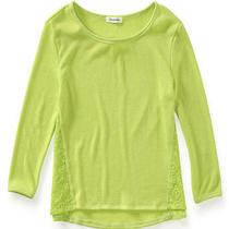 Aeropostale Juniors Solid Ls Knit Sweater Photo