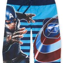 Aeropostale Kids' Marvel Captain America Boardshorts Photo