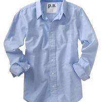 Aeropostale Kids Ps Boys' Long Sleeve Uniform Woven Shirt Photo