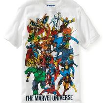 Aeropostale Kids Ps Boys' Marvel Universe Graphic T Shirt Photo