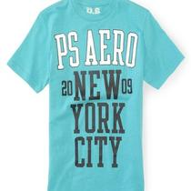Aeropostale Kids Ps Boys' Ps Aero New York City Graphic T Shirt Photo