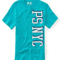 Aeropostale Kids Ps Boys' Ps Nyc Athletic Graphic T Shirt Photo