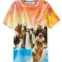 Aeropostale Kids Ps Boys' Slip & Slide Animals Graphic T Shirt Photo