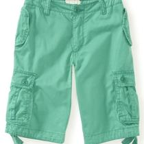 Aeropostale Kids Ps Boys' Solid Lightweight Cargo Shorts Photo