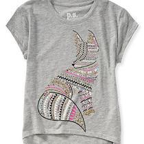 Aeropostale Kids Ps Girls' Bling Fox Graphic T Shirt Photo
