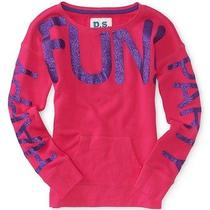 Aeropostale Kids Ps Girls' Fun Popover Sweatshirt Photo