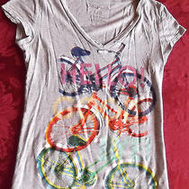 Aeropostale Large Grey T With Graphic Art Photo