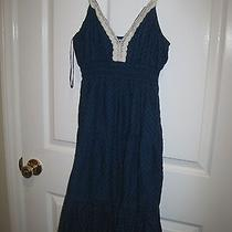Aeropostale - Medium Blue Summer Dress - Medium  Photo