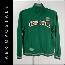 Aeropostale Men Full Zipper Front Active Wear Jacket Green Size Xl  Photo