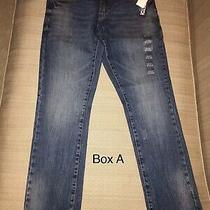 Aeropostale Men's/boys Blue Jeans 27x28 Slim Taper Skinny Jeans Nwt (Lau Bas) Photo