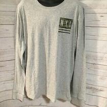Aeropostale Men's Gray Long Sleeve T-Shirt - New York City - 100% Cotton Size Xl Photo