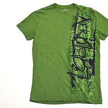 Aeropostale Men's Green Graphic T-Shirt S Photo