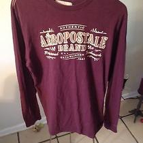 Aeropostale Men's Large Graphic Long Sleeve Tee Photo