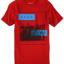 Aeropostale Mens 1987 Nyc Graphic T-Shirt Red Medium Photo