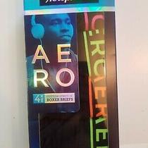 Aeropostale Mens 4 Pack Boxer Briefs Cotton Stretch Large Photo