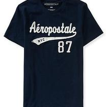 Aeropostale Mens Aero Script Graphic T Shirt Photo