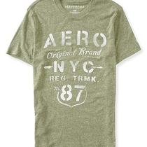 Aeropostale Mens Aero Stencil Graphic T Shirt Photo