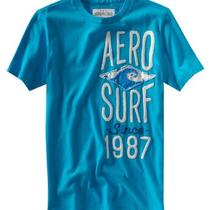 Aeropostale Mens Aero Surf Embellished T-Shirt Photo